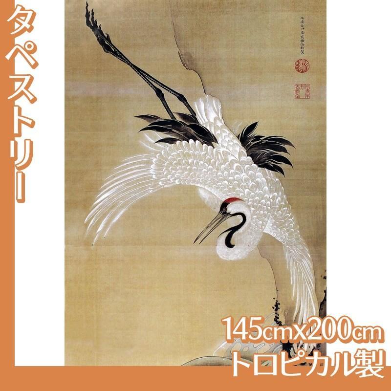 タペストリー145cm×200cm 伊藤若冲(No.21~40) トロピカル製
