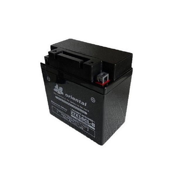 ジェットスキー バッテリー ZTX16CL-B 完全密閉型 YB16CL-B 液漏れの心配がございません FB16CL-B 送料0円 使用中 OTX16CL-Bに互換 マリンスポーツ 日本メーカー新品