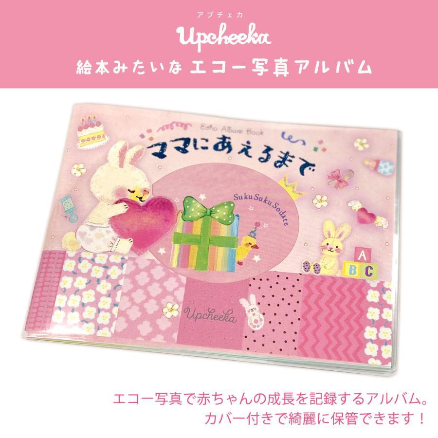 絵本みたいなエコー写真アルバム 贈物 BA−7621 アプチェカ 商い ベビーピンク オリエンタルベリー