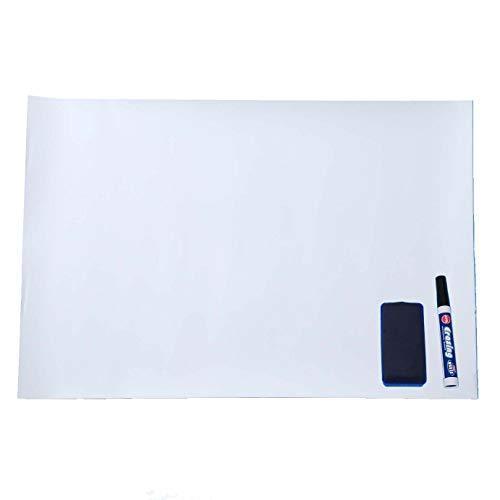 ホワイトボード シート 60x40cm 字消し ペン付 マグネット 磁石がくっつく 粘着シート 壁 壁紙 磁石 冷蔵庫 粘着シール|orientshop2|04