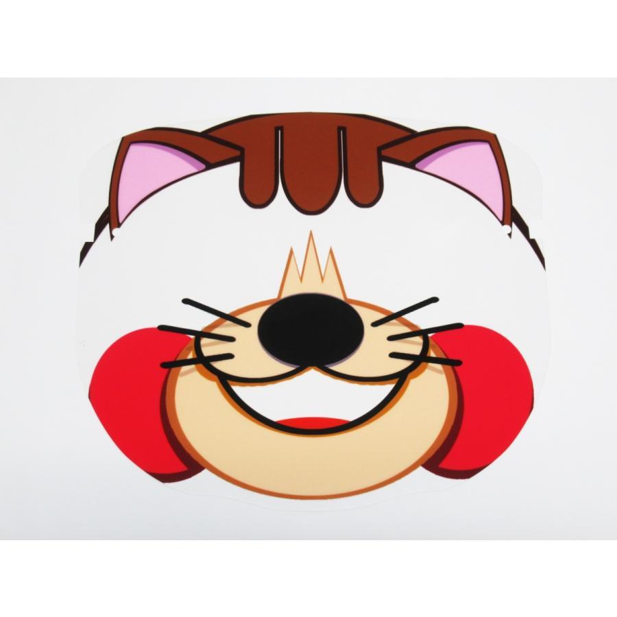 仮装 猫 フェイスシールド マスク お面 メガネ型 日本製 飛沫防止 コスプレ ハロウィン パーティー フェイスガード 感染防止 ウイルス コロナ対策|originalartpro|02