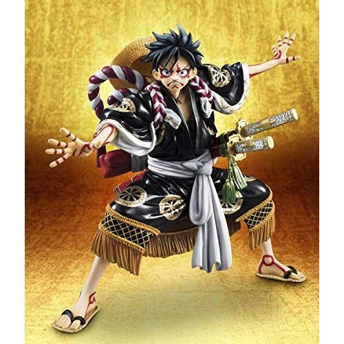 """Portrait.Of.Piratesワンピース""""KABUKI EDITION"""" モンキー・D・ルフィ 再演 1/8スケール PVC ABS"""