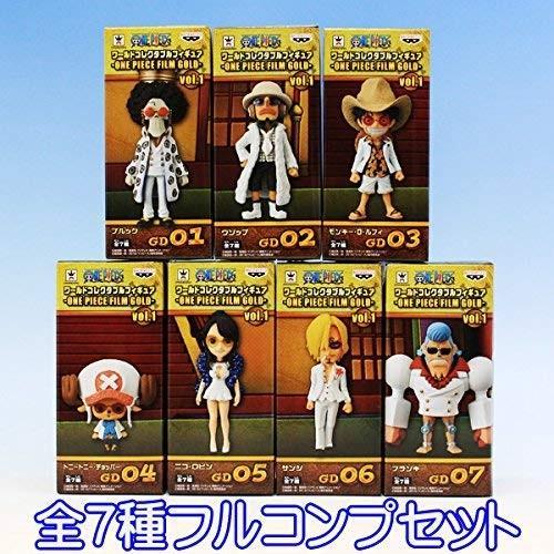 ワンピース ワールドコレクタブルフィギュア ONE PIECE FILM ゴールド vol.1 アニメ フィギュア グッズ プライズ バンプ