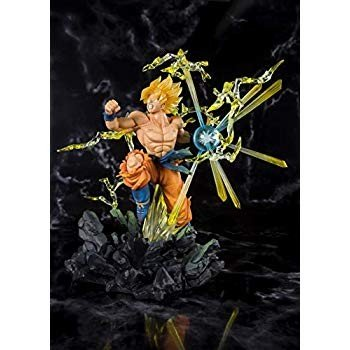 Bandai - Figurine DBZ - Super Saiyan Son Goku The Burning Battles Figu