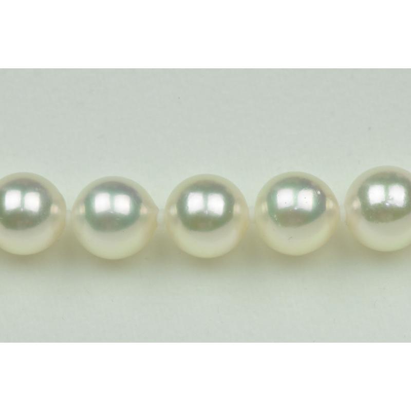 新品【花珠真珠】8.5mm-9.0mm パールネックレス 鑑別|osaka-jewelry|03