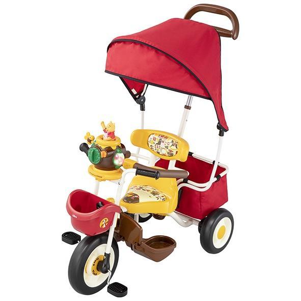 ポップアップカーゴ三輪車 くまのプーさん アイデス 2019年新製品