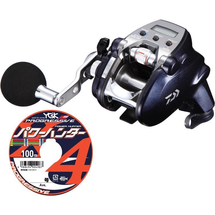 【送料無料】ダイワ daiwa レオブリッツ 200J-L 左巻 PEライン3号200mセット!(よつあみパワーハンター プログレッシブ) 電動リールに糸を巻いてお届けします!