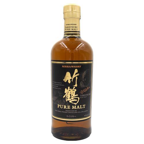 ウイスキー 竹鶴 ピュアモルト 700ml 品質保証 43度 返品交換不可 whisky 国産ウイスキー ボトルのみ ニッカ