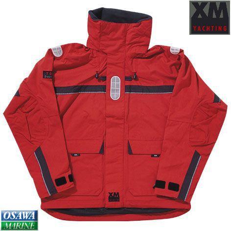 XM エグゼム マリンジャケット オフショア レッド Sサイズ