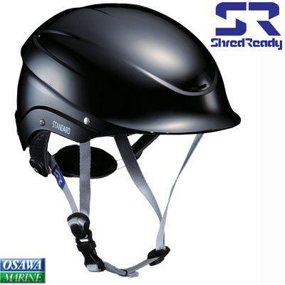 ヘルメット SH赤 READY STDコレクション ハーフカット ブラック