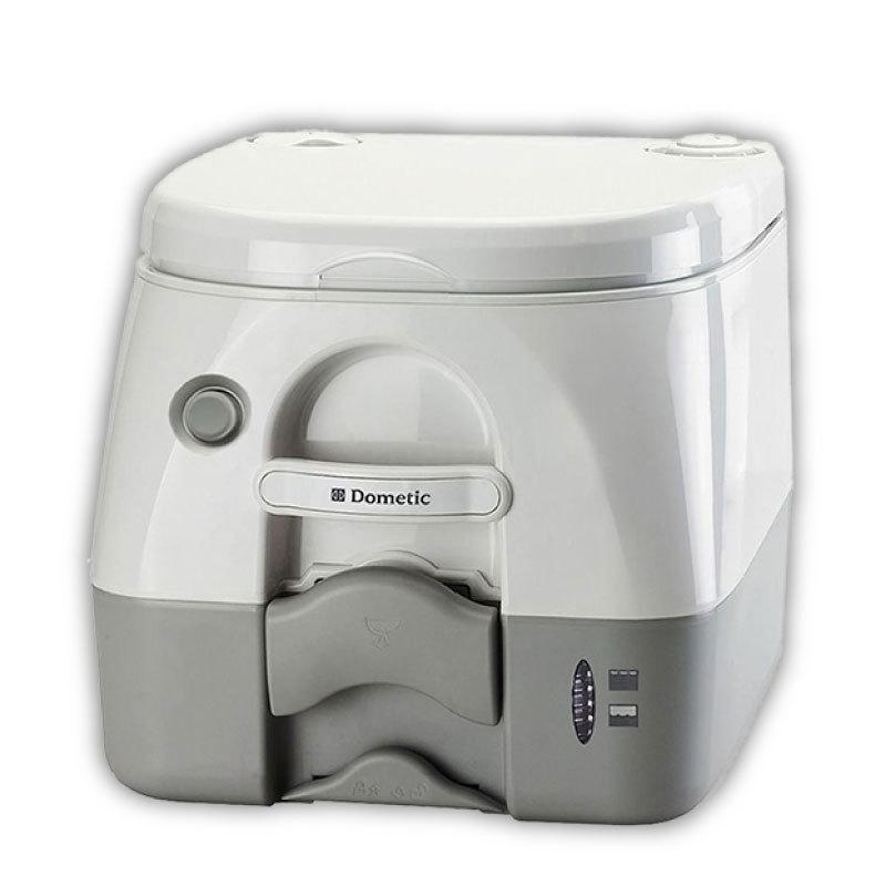 ポータブルトイレ 水洗式 アウトドア 車中泊 Mサイズ ドメティック 1着でも送料無料 台風 972 お得セット