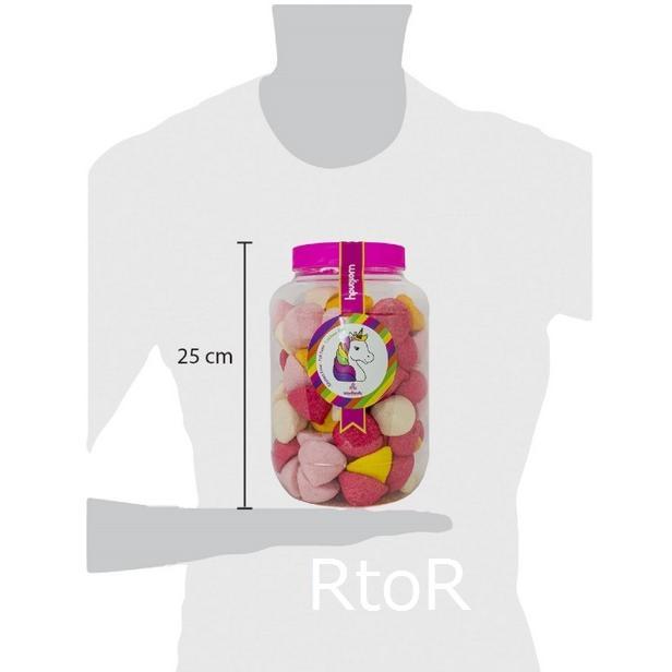 ウォンキャンディー ユニコーン ジャー マシュマロ 900g WonKandy Unicorn Jar Marshmallow|osentaku|03