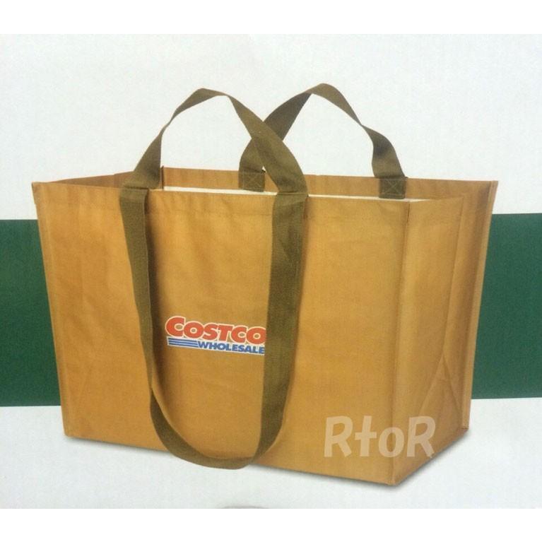 Costcoコストコ 「ショッピングバッグ 大型トートバッグ」 2枚セット エコバッグ たっぷりサイズ ピクニック