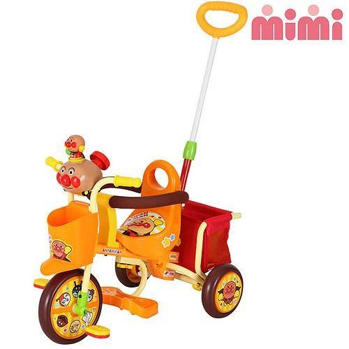 [クリアランスSALE][送料無料]M&M(エムアンドエム) わくわく アンパンマンごうピースII オレンジ 0216 mimi/三輪車][GTT]※同梱不可