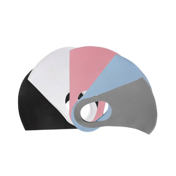 布マスク 1枚 5カラー 2サイズ 立体加工 繰り返して 洗える 個包装 Mサイズ Lサイズ Shareki u-mask-1|osharekizoku|07