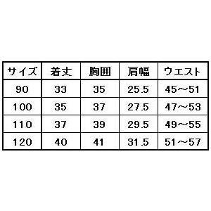 子供用 ニッカベスト・ニッカズボン 上下セット 90〜120|oshigotoichiba|02
