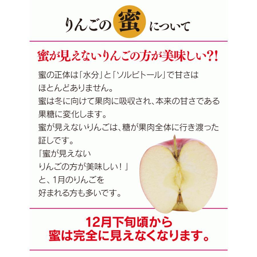 【初回限定】<12月上旬より出荷>長野 蜜入りサンふじりんご 送料無料 2kg 大小混合(5玉から9玉前後)果物 大嶌屋(おおしまや)|oshimaya-1991|14