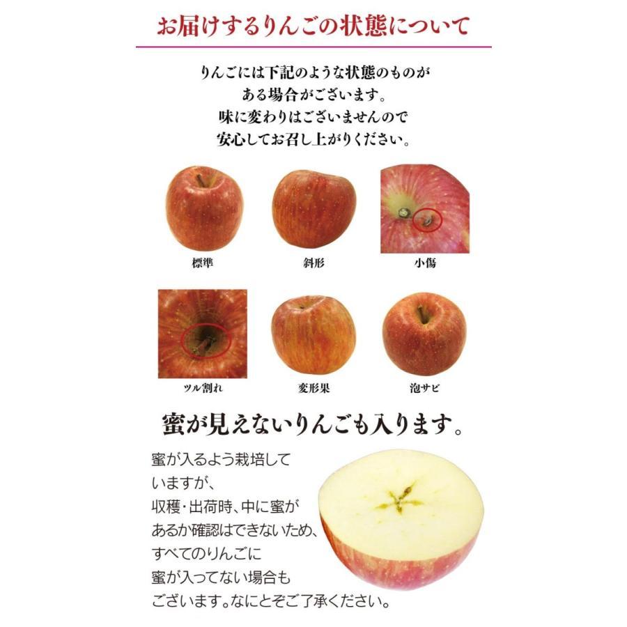 【初回限定】<12月上旬より出荷>長野 蜜入りサンふじりんご 送料無料 2kg 大小混合(5玉から9玉前後)果物 大嶌屋(おおしまや)|oshimaya-1991|15