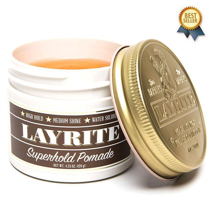 レイライト ポマード スーパーホールド 期間限定特別価格 未使用 水性 LAYRITE POMADE SUPERHOLD 120g