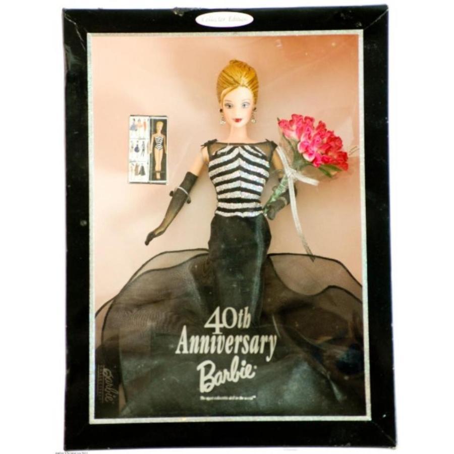 バービー人形 おもちゃ 着せ替え 40th Anniversary Barbie 輸入品