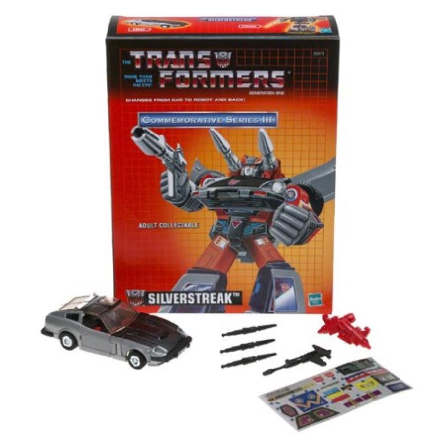 トランスフォーマー おもちゃ 変形 合体ロボ Transformers 銀STREAK G1 Commemorative Series III 輸入品