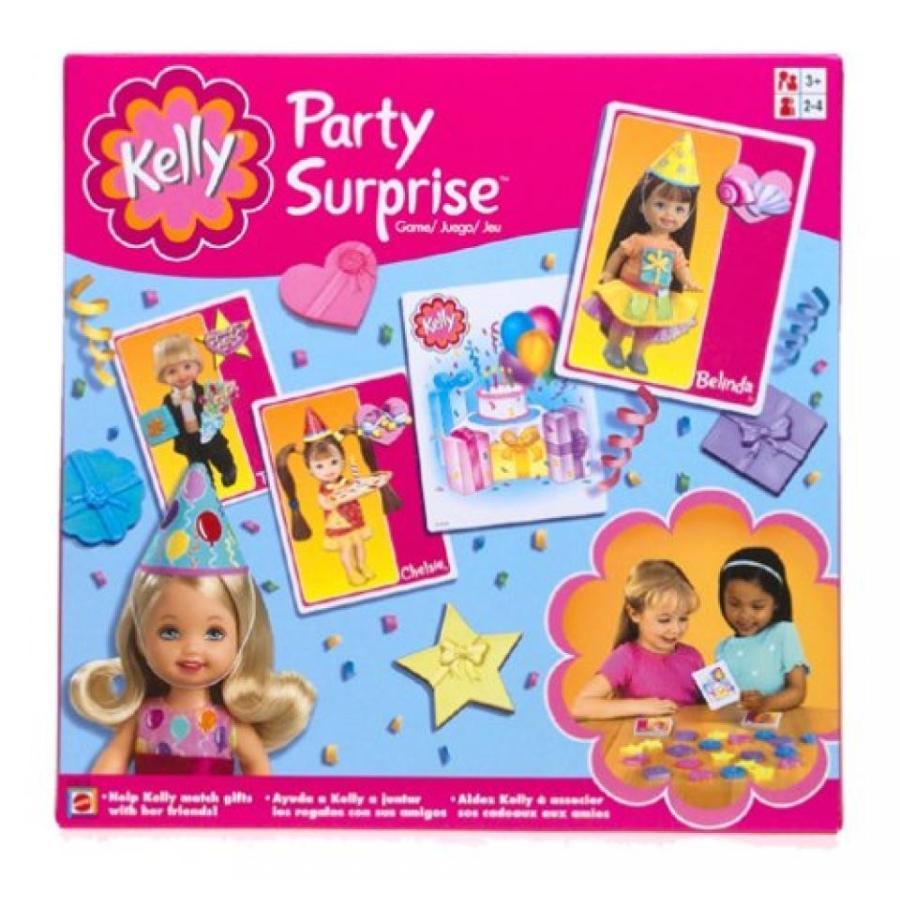バービー人形 おもちゃ 着せ替え Barbie Kelly Party Surprise Game 輸入品