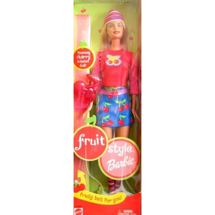 バービー人形 着せ替え おもちゃ Barbie Fruit Style Doll - Cherry Scented (2002) 輸入品