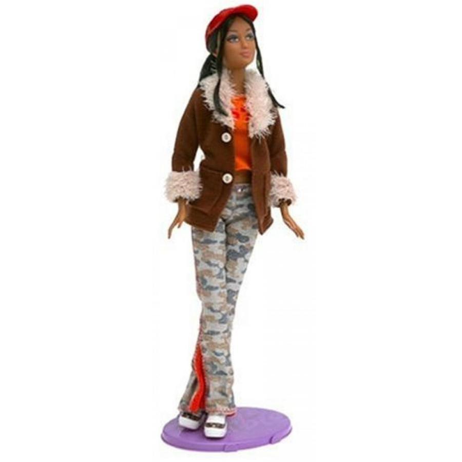 バービー人形 おもちゃ 着せ替え Barbie Fashion Fever - Kayla Doll with 褐色 Suede Jacket 輸入品