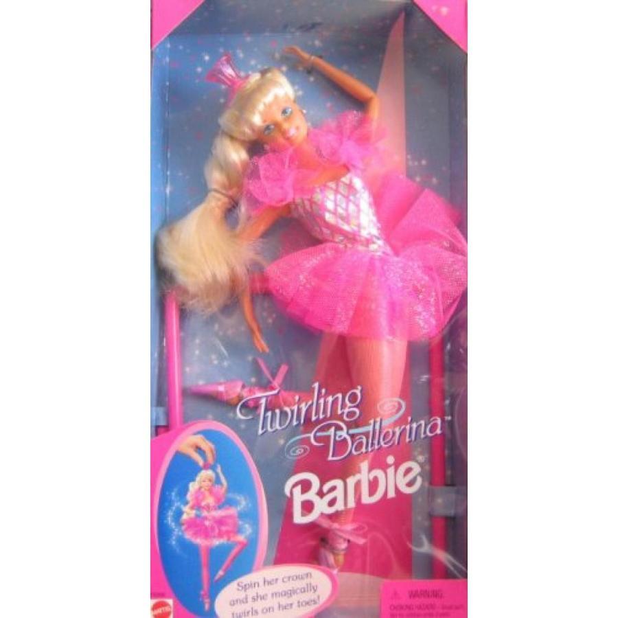 バービー人形 おもちゃ 着せ替え Barbie Twirling Ballerina Doll 輸入品