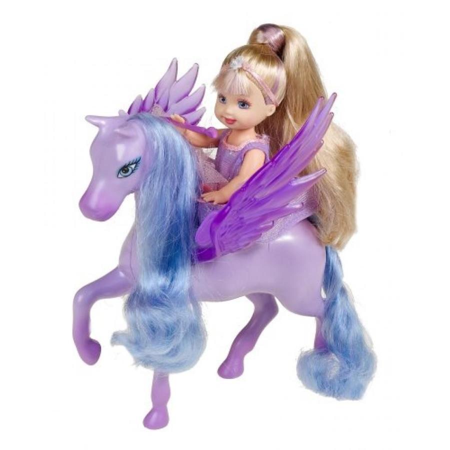 バービー人形 おもちゃ 着せ替え Kelly Magic of Pegasus; 紫の 輸入品
