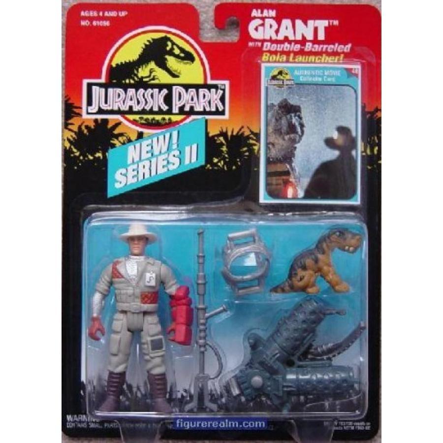 ジュラシックワールド おもちゃ フィギュア 恐竜 Jurassic Park - Alan Grant with Bola Launcher 輸入品