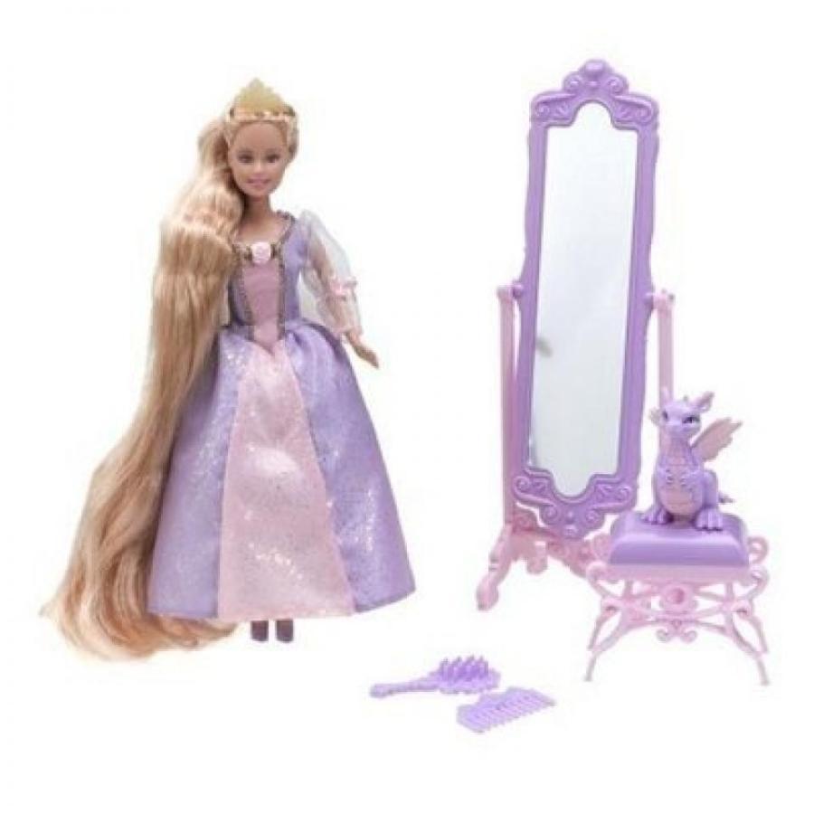 バービー人形 おもちゃ 着せ替え Barbie Princess Mini Kingdom Mini Barbie Rapunzel Doll 輸入品