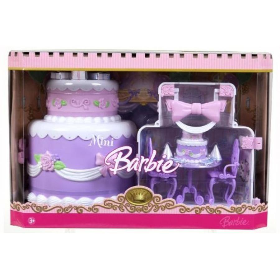 バービー人形 おもちゃ 着せ替え Barbie Princess Barbie Mini Kingdom Playset 輸入品