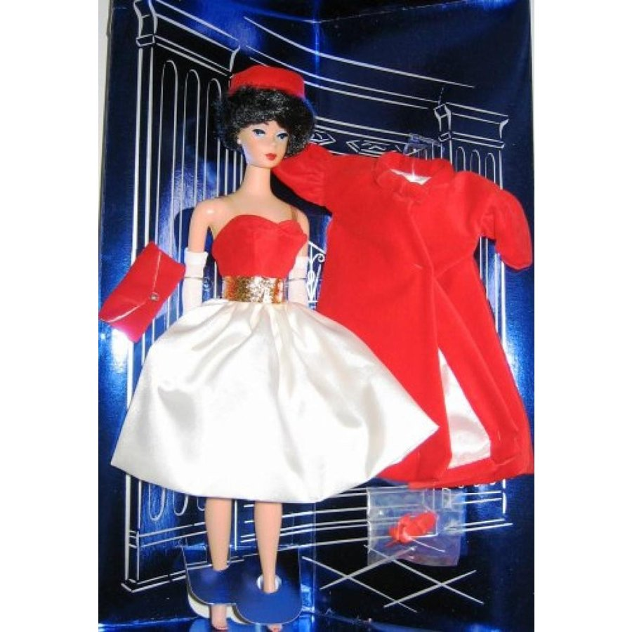 バービー人形 着せ替え おもちゃ Nostalgic 1997 Silken Flame Barbie (Brunette) 輸入品