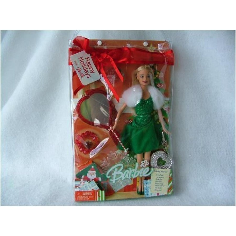 バービー人形 着せ替え おもちゃ Barbie Christmas Holiday Wishes 輸入品