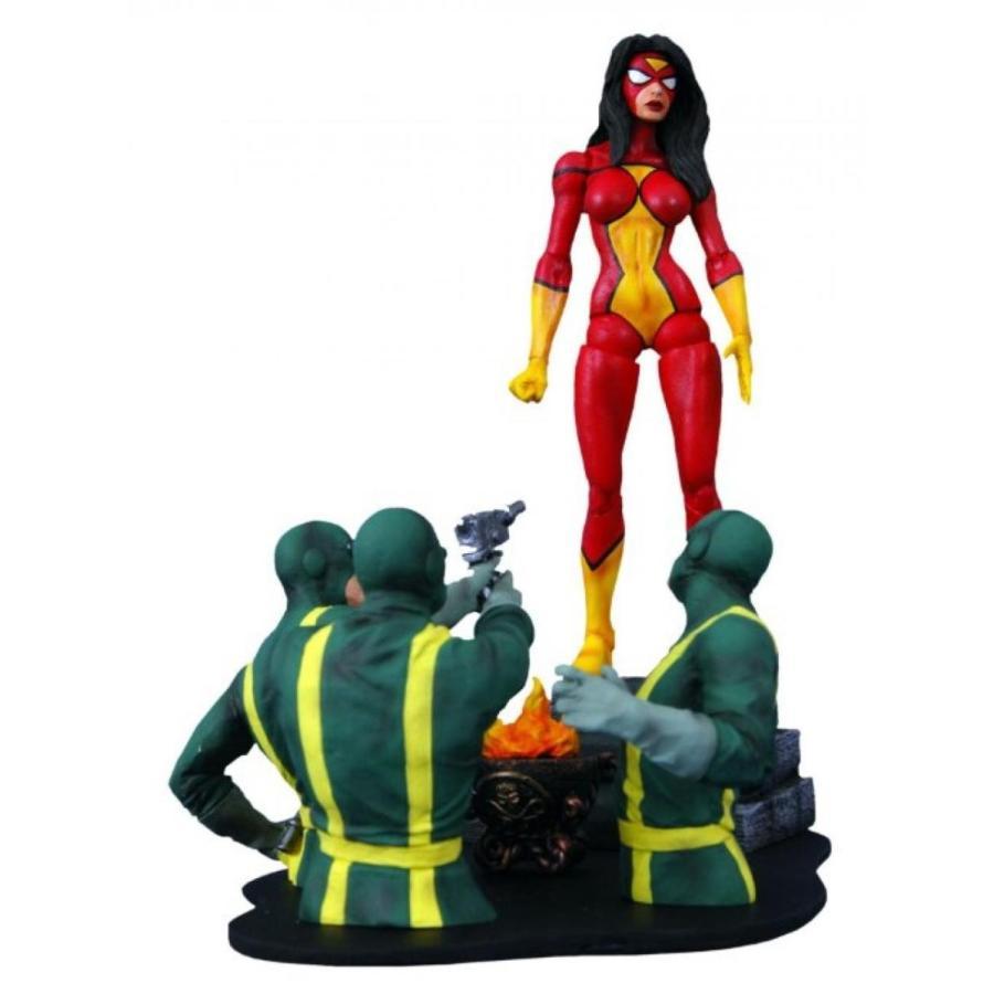 アベンジャーズ おもちゃ フィギュア Diamond Select Toys Marvel Select: Spider-Woman Action Figure 輸入品