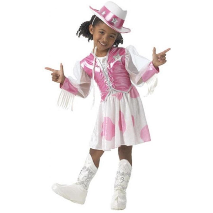 バービー人形 おもちゃ 着せ替え Child's Cowgirl Barbie Costume (Size:Toddler 2-4) 輸入品