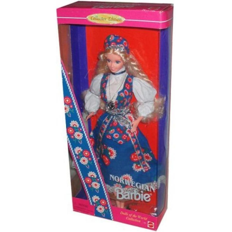 バービー人形 着せ替え おもちゃ Norwegian Barbie Dolls of the World Collection 輸入品