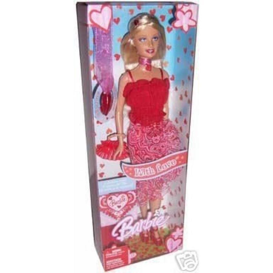 バービー人形 おもちゃ 着せ替え Barbie Valentines Day Doll 赤 Hearts With Love 輸入品