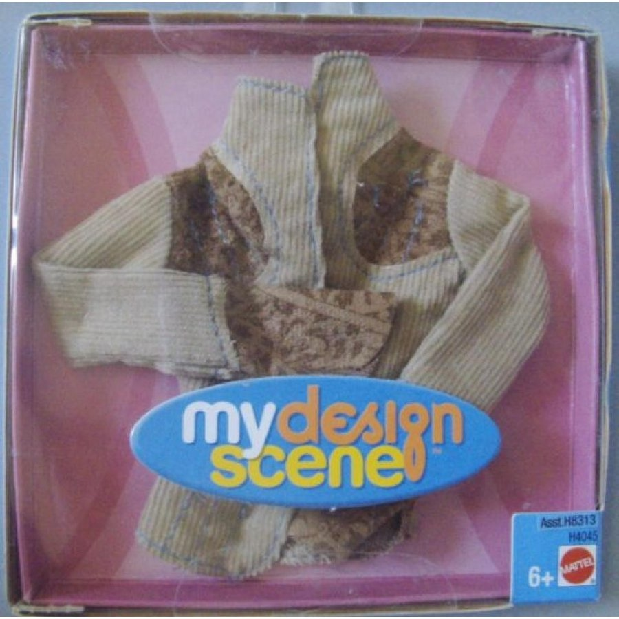 バービー人形 着せ替え おもちゃ Barbie My Design Scene Fashion Top 輸入品