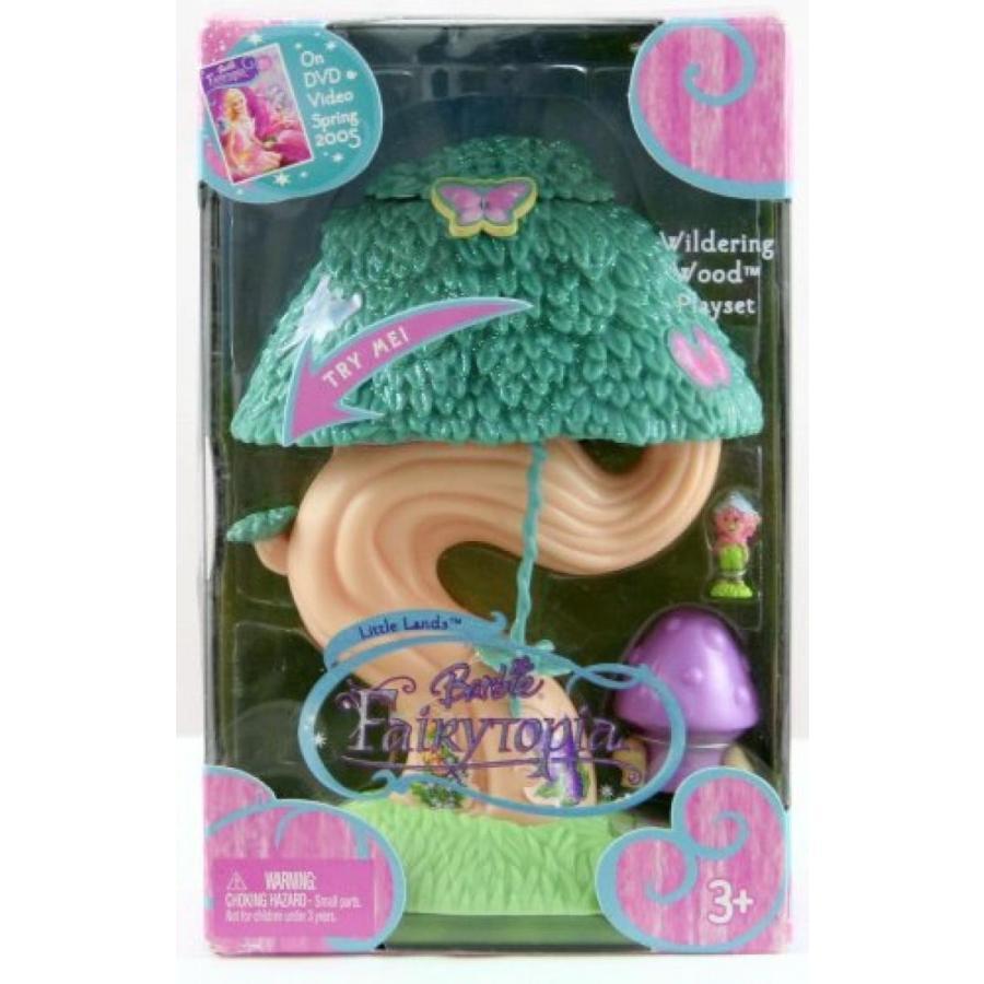 バービー人形 おもちゃ 着せ替え Barbie FairyTopia Wildering Wood Playset 輸入品
