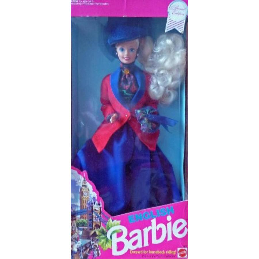 バービー人形 着せ替え おもちゃ 1991English Barbie Doll - Dressed for Horse Back Riding 輸入品
