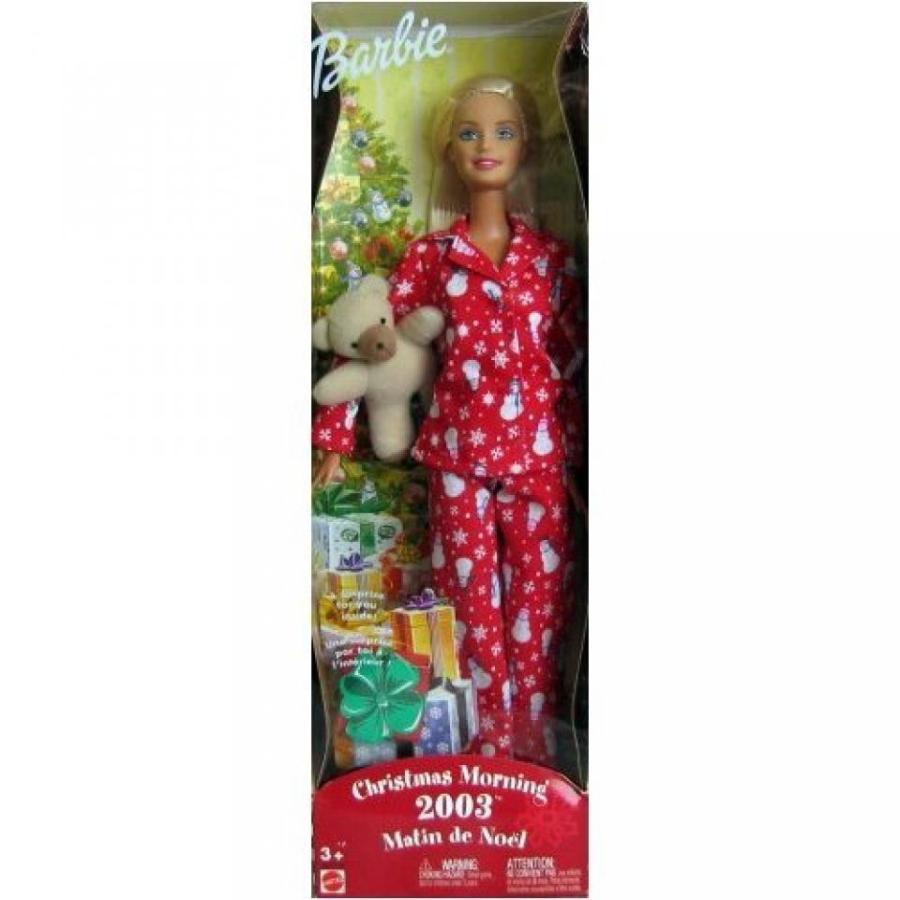 バービー人形 おもちゃ 着せ替え Barbie Christmas Morning 2003 輸入品