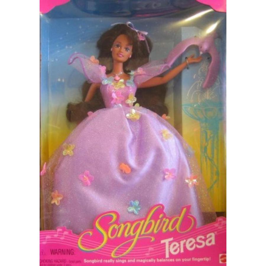 バービー人形 着せ替え おもちゃ Barbie Songbird Doll TERESA Brunette Hair Doll (1995) 輸入品
