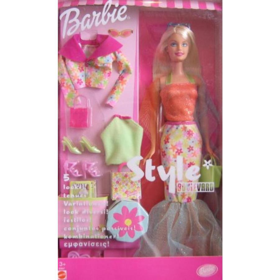 バービー人形 おもちゃ 着せ替え Barbie Style Boulevard Doll 輸入品