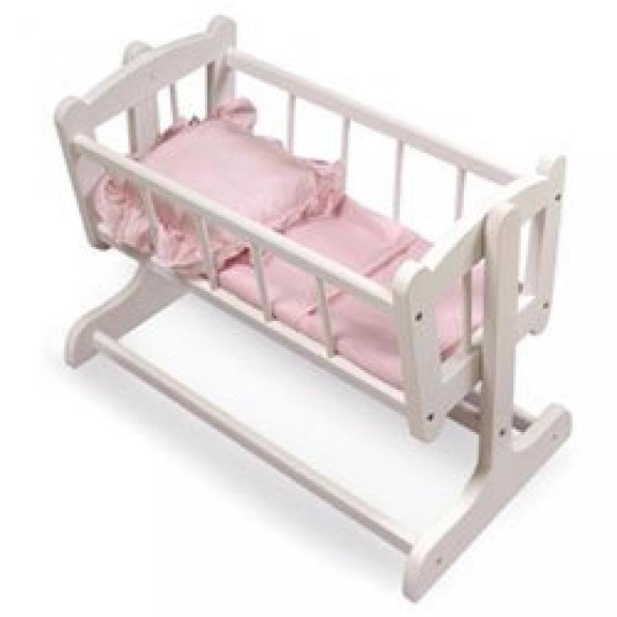 バービー人形 おもちゃ 着せ替え Badger Basket Heirloom Doll Cradle 輸入品