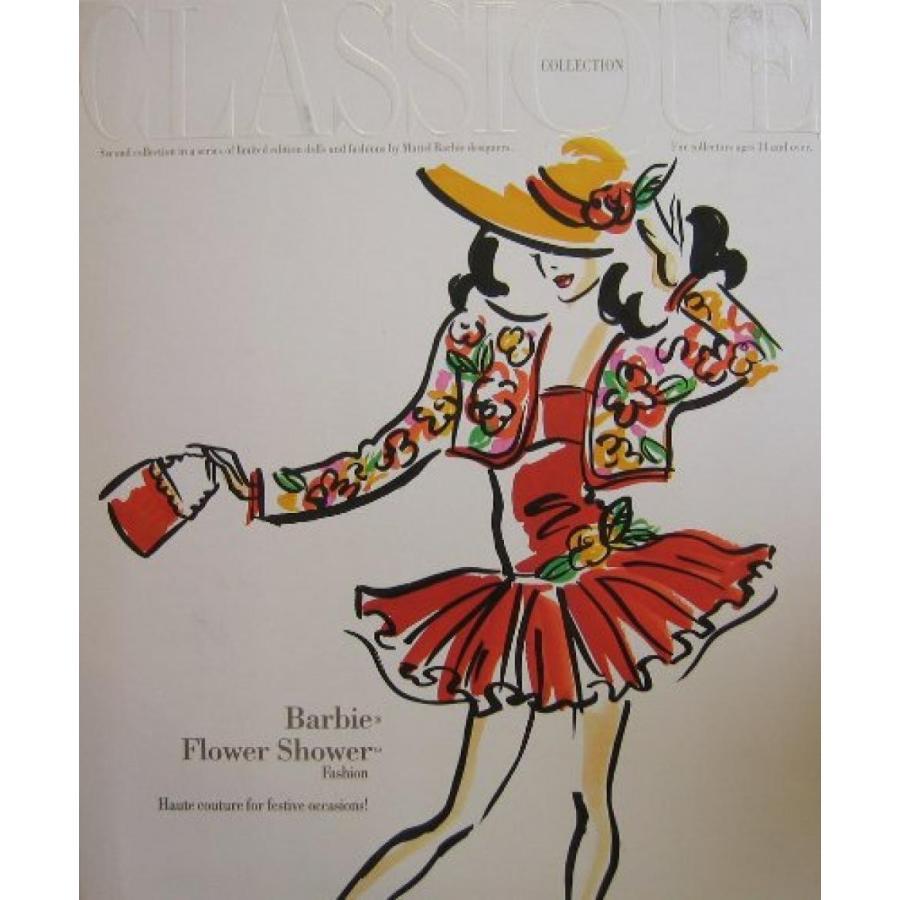 バービー人形 おもちゃ 着せ替え Barbie - Flower Shower Fashion - Classique Collection 輸入品