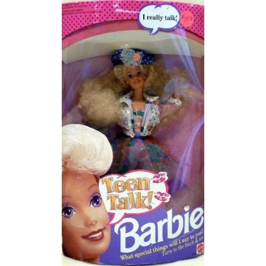 バービー人形 着せ替え おもちゃ Mattel Teen Talk Barbie Doll - 1991 輸入品