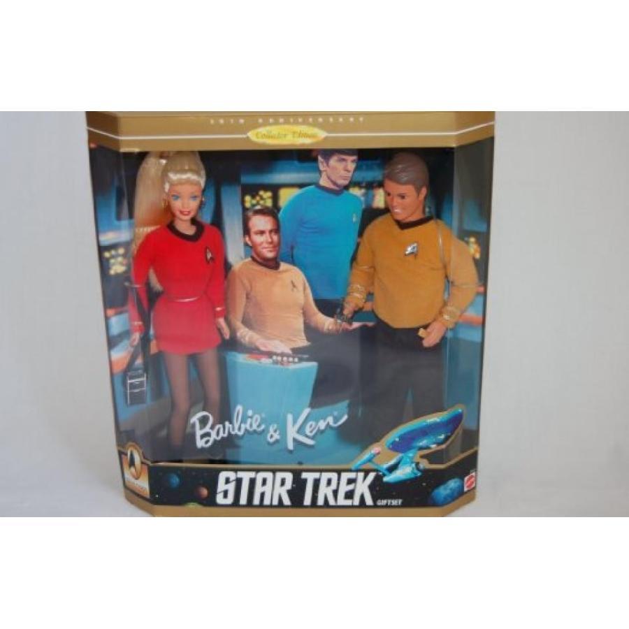 バービー人形 おもちゃ 着せ替え Star Trek Barbie and Ken Set 輸入品