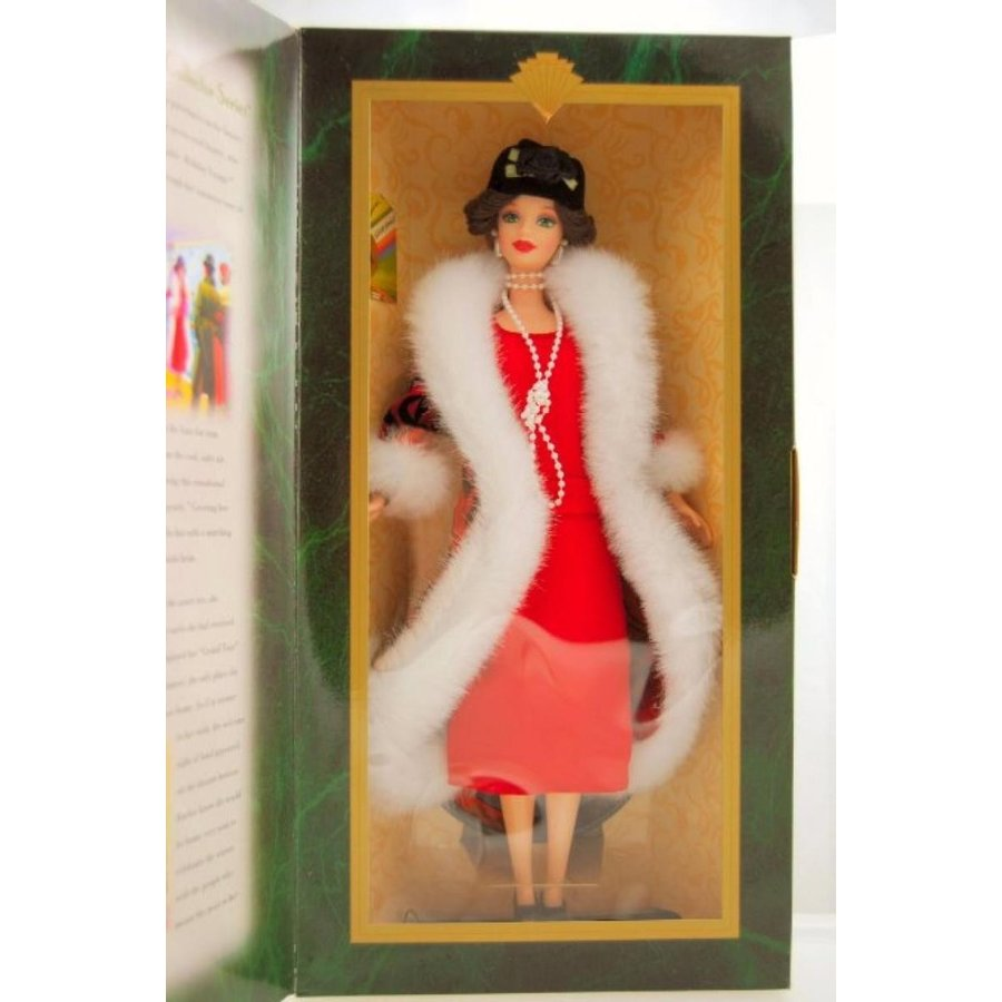 バービー人形 着せ替え おもちゃ Hallmark HOLIDAY VOYAGE Holiday Homecoming Collector Series Barbie 輸入品